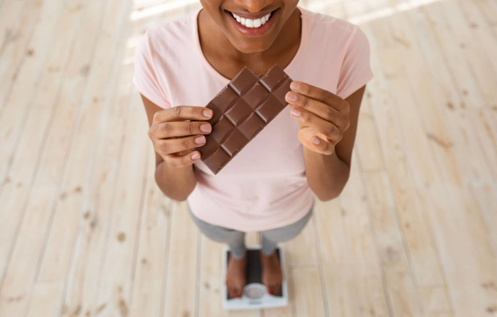 Is dark chocolate can cause gain weight?