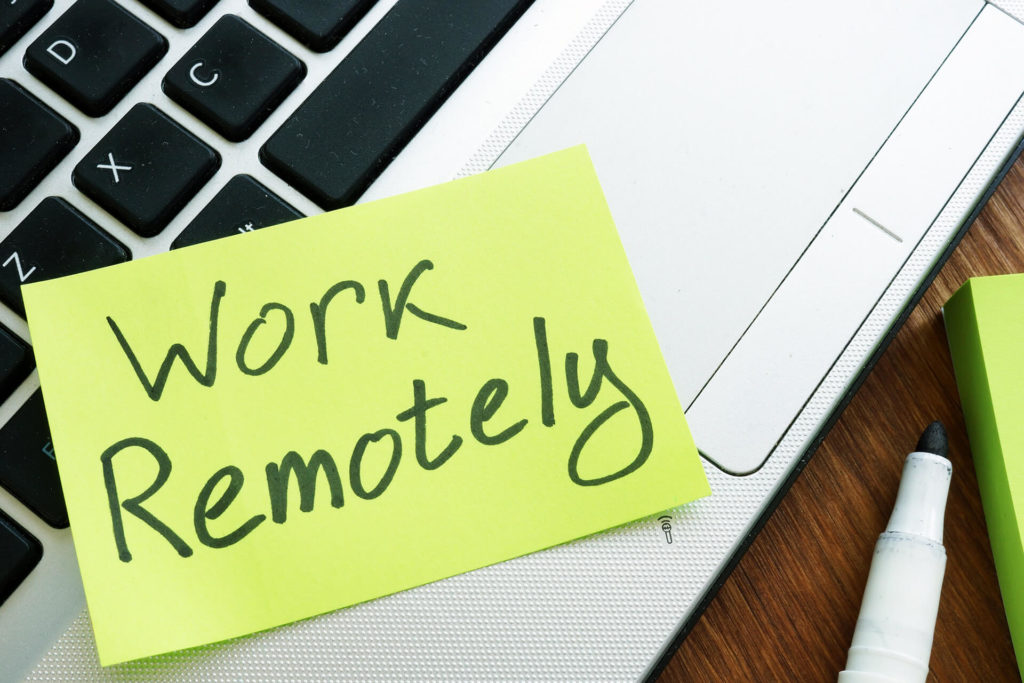Remote work - Work from home